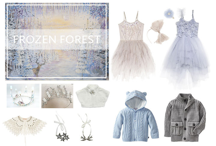 2016 Holiday Sessions ~ Frozen Forest & Rustic Pine