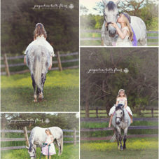 Rapunzel and Maximus | Child and Pony Photos
